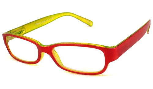 NVU Eyewear Full Readers (Women) Reading Glasses - G Train Red / G TRAIN RED +1.00