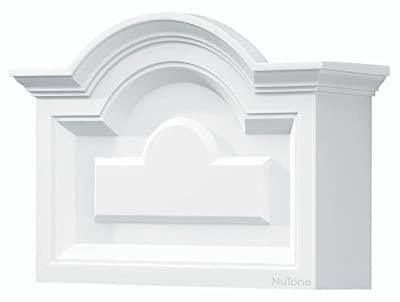 NuTone LA140WH Decorative Wired Two-Note Door Chime, Classic Arched Top Design, White Finish