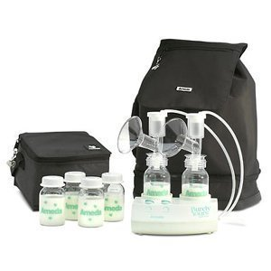Ameda Purely Yours Carry All Breast Pump Traveler Backpack front-447794