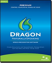 Dragon Naturallyspeaking Prem 11.0 Us Mailer with Bluetooth Headset