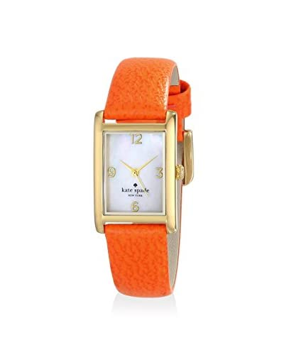 kate spade new york Women's 1YRU0189 Cooper Gold-Tone Watch with Leather Strap
