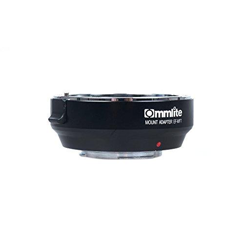 Commlite アルミ合金製 CM-EF-MFT 電子絞り制御 レンズマウントアダプター Canon EF  EF-S→ Olympus PEN E-P1 P2/3/5 E-PL1 OM-D E-M5 Panasonic LUMIX GH2/3/4 M4/3カメラ専用並行輸入品