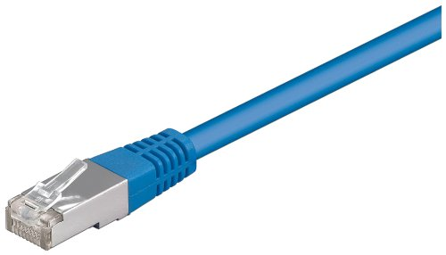 Goobay CAT5e SFTP Netzwerkkabel (2x RJ45, 2m) blau