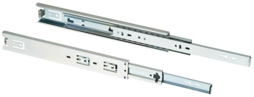 Shop Fox D3032 20-Inch Full Ext Drawer Slide 100-Pound Capacity Side Mount, Pair