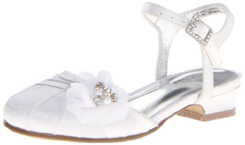 Toddler Girl White Sandals front-1058366