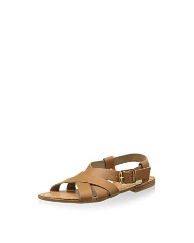 Pieces Sandalias planas PSJIVA LEATHER SANDAL