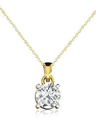 Friendly Diamonds Conjunto de cadena y colgante FDP6258Y Oro Amarillo