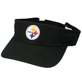 Pittsburgh Steelers Basic Logo Adjustable Visor