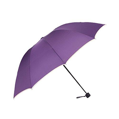 Marca west simple anti uv parasol folding sun rain - Parasol anti uv ...