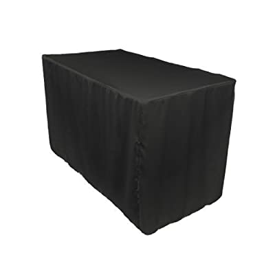 2 X Double Knit Polyester Professional Table Cover, 4 Ft