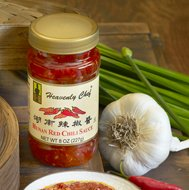 Heavenly Chef Sauce Chili Hunan 8 Oz Pack Of 12 by Heavenly Chef