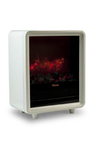 Crane Mini Fireplace Heater, White