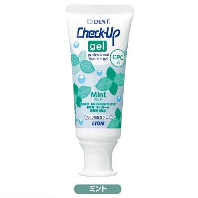 CheckーUp gel 1本 ミント 60g