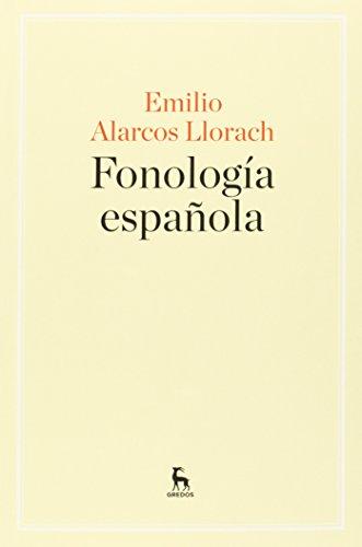 FONOLOGIA ESPAÑOLA