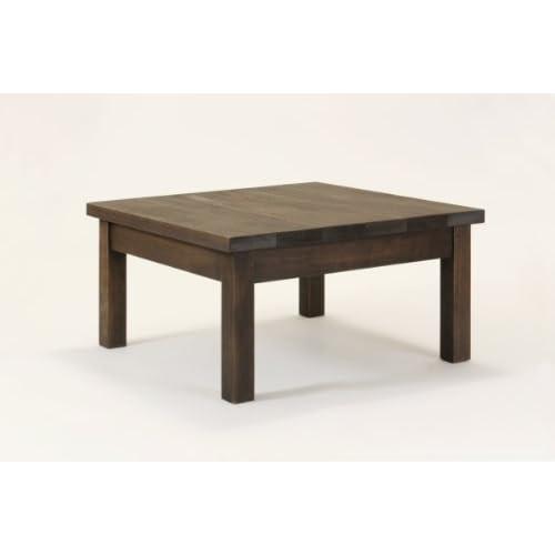 匠のミニテーブル・70cm×70cm×高さ30cm(30-40cmのご希望サイズ)(色:ブラウン)(ヒバ材・無垢材・天然木製)(ガーデンテーブル)