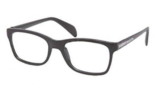 pradaPrada PR19PV Eyeglasses-1AB/1O1 Black-55mm