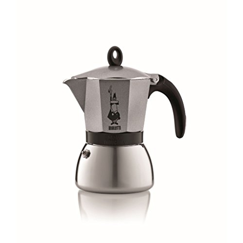 Bialetti 3 Cup Moka Induction Stove top Stovetop Espresso Coffee Maker