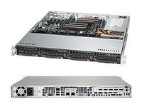 Brand new Supermicro Barebone 6018R-MT 1U Superserver with full manufacturer warranty