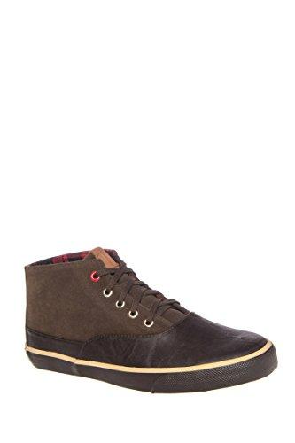 Men's Percy Suede Mid Top Sneaker