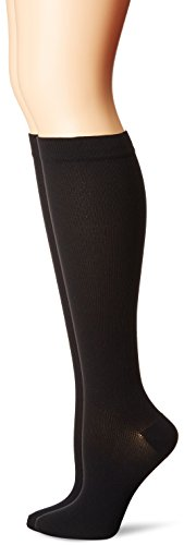 PEDS-Womens-Diabetic-Over-The-Calf-Socks-with-Compression-Fit-2-Pairs