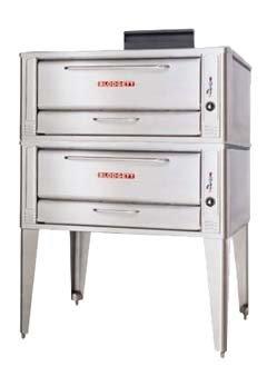 Blodgett 1048 Double Pizza Deck Oven, Gas, Double Deck