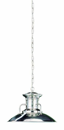 World Imports Lighting 76101-37 Luray 1 Light Mini Pendant in Brushed Nickel