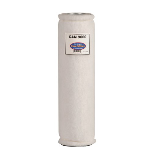 Cheap Can 9000 Carbon Filter with Prefilter, Flange Sold Separately (CF0358510B)