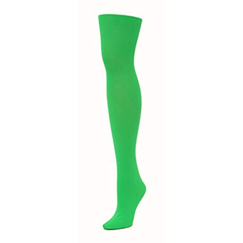 Tights - Green (Extra Large) (Womens Extra Large Tights compare prices)