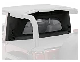 Bestop 80041-35  Black Diamond WrapAround Windjammer Wind Break for 07-12 Wrangler JK including Unlimited