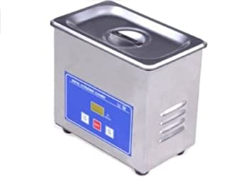 Jeken Mini 600ml Digital Ultrasonic Cleaner Stainless Steel Model PS-06A CE New by LMM Dental