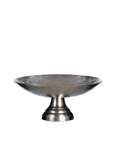 Huisraad meubilair Dekoschale zilver