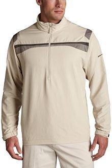 Nike Nike Men's Windproof 1/2 Zip Jacket, Birch/Soft Grey/Midnight Fog, Large