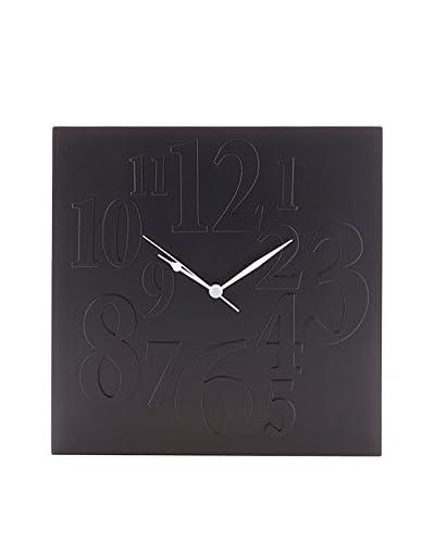 Tomasucci  Reloj De Pared Mix Negro