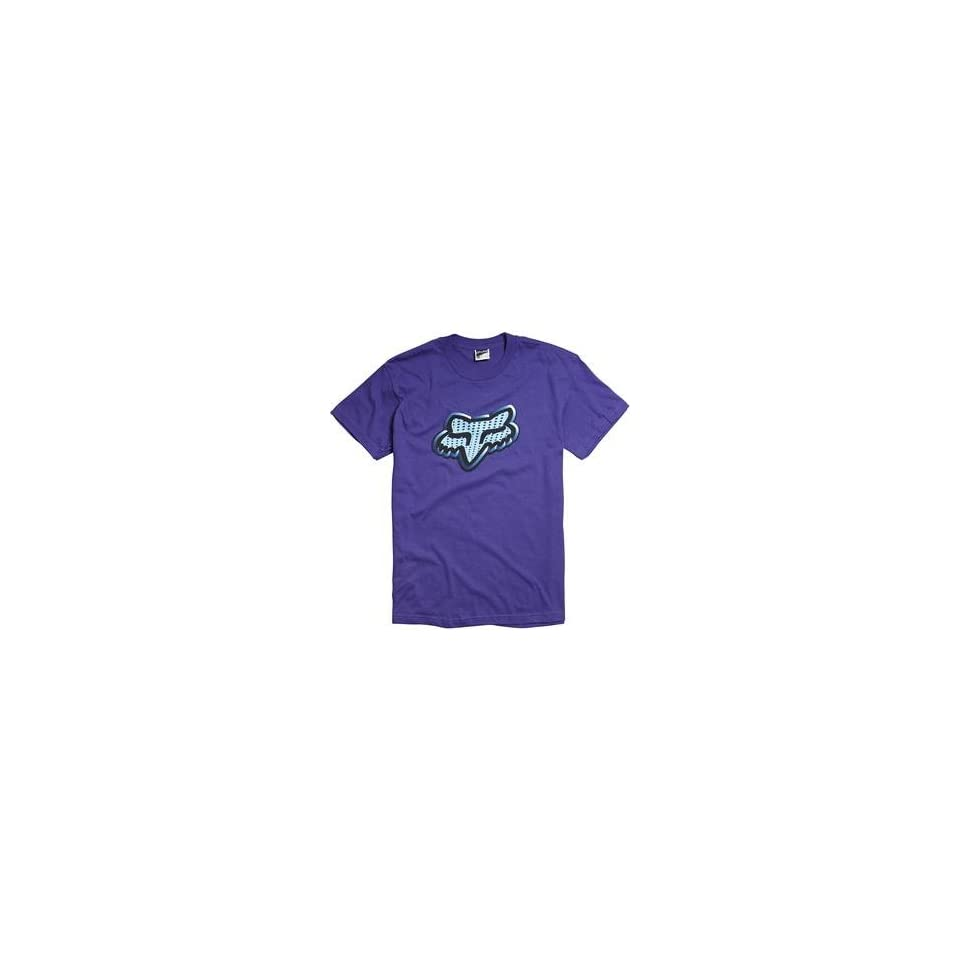 Fox Racing Lunatech T Shirt   Small/Purple