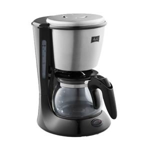 メリタジャパン 家庭用コーヒーメーカー ステップス 2~5杯用 ブラック MKM-533/B