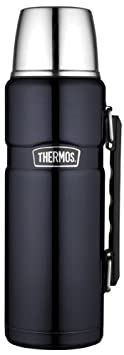 Isolierflasche 0,5 Liter Thermos Light /& Compact grau Edelstahl Thermosflasche