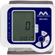 Wrist Blood Pressure Monitor, Accurate, Easy to Use, Easy to read, Digital, Automatic, and Portable, with a Hassle Free Money Back Guarantee, and with a Large Screen and Large Wrist Cuff.