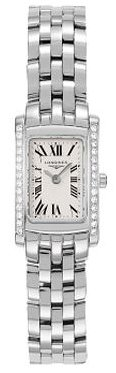 Longines DolceVita Womens-Mini Stainless Steel Diamond Watch L51580716