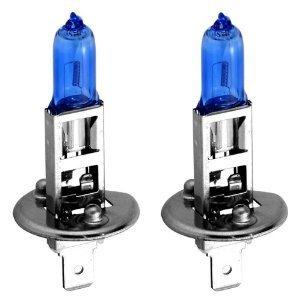 H1 12V 55W Super Halogen Xenon Bulb Twin Pack