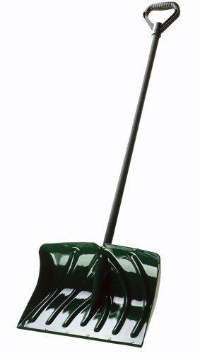 Suncast SC1350 18-Inch Snow Shovel/Pusher Combo with Wear