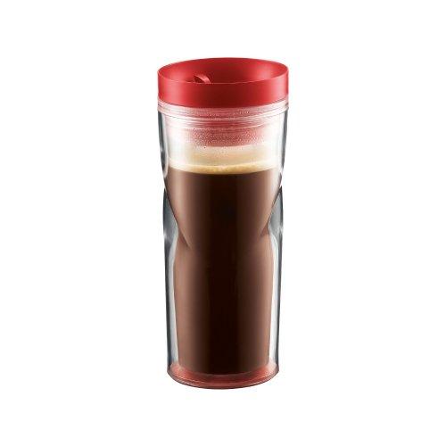 Bodum Travel Mug, 15-Ounce, Red