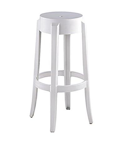 Furniture Contempo Judi Bar Stool, White
