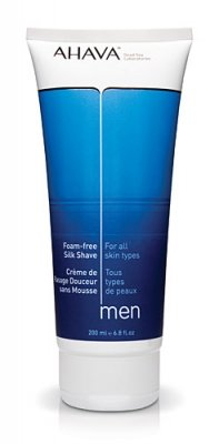 Ahava Foam-free Silk Shave Cream For Men, 6.8-Ounce Tube