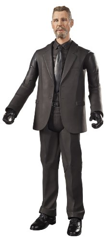 Batman The Dark Knight Rises Movie Masters Collector Ra's Al Ghul Figure (Dark Knight Collection)