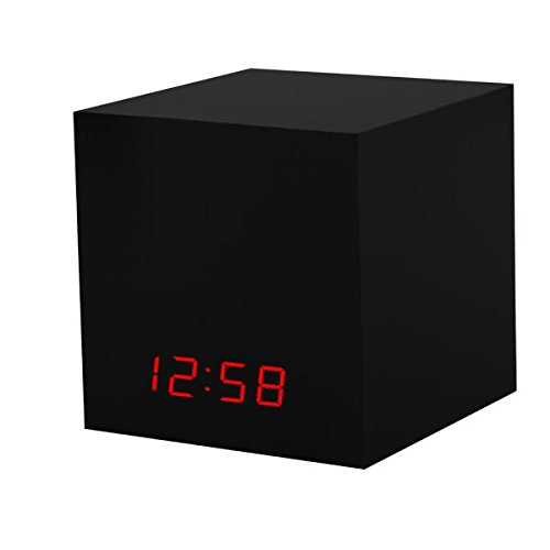 Big Save! Black Box - Hidden Nest Cam & Dropcam Pro LED Clock Spy Cam Nanny Cam for hiding a Nes...