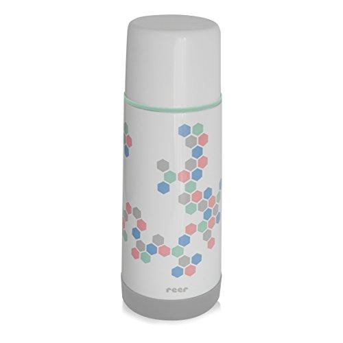 Reer-90310-Edelstahl-Isolierflasche-DesignLine-mit-praktischem-Anti-Rutschboden-350ml
