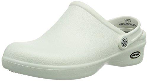 Safety Jogger - Zoccoli, Unisex - adulto, Bianco (Weiß (White WHT)), 38