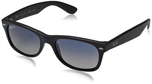 Ray-Ban - New Wayfarer, Occhiali da sole, unisex, Black, 52 mm