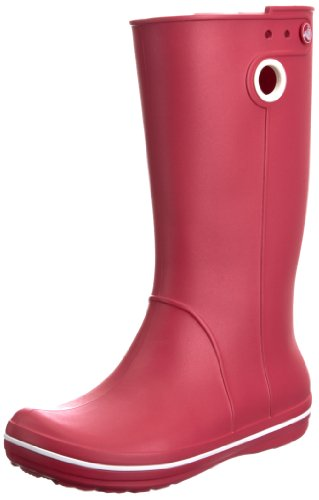 Crocs Women's Crocband Jaunt Raspberry Wellingtons Boots 10970-652-409 2 UK