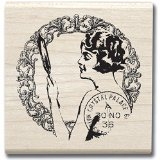 Hampton Art Graphi 45 Sweet Nothings Rubber Stamp - 1
